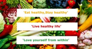 Living a healthy lifestyle- 10 Basic Rules to Feel Good